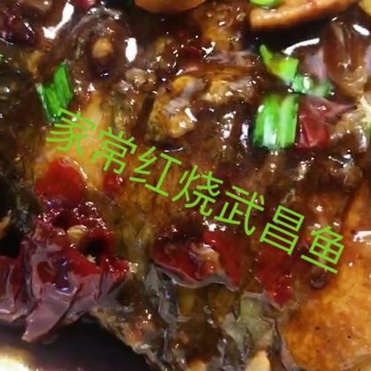 #美食#~今晚分享~家常红烧武昌鱼,回锅肉,红烧鱼加了些肉烧的,风味不一样~不一样,回锅肉炒的酱香味不辣的,又烧了一碗素菜汤,就米饭🍚吃~巴适哈😋,亲们晚上好🍲🍛🍴🍷~谢谢观看!#家常菜#