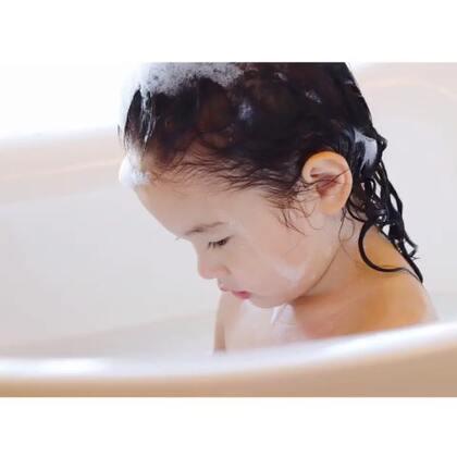 小momo沐浴照 #mo成长#