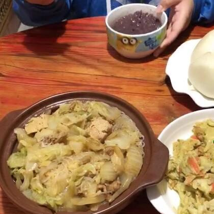 #吃秀##潇岩的早餐#爱自己,爱家,爱亲人,爱朋友。最主要(爱岩妈😂)大家早上好😄