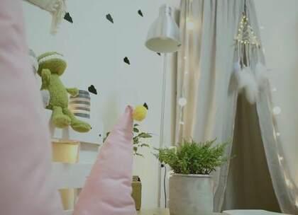 【我的出租屋第三集(2)】手把手教你做INS风帐篷,你的小窝值得一方温馨。