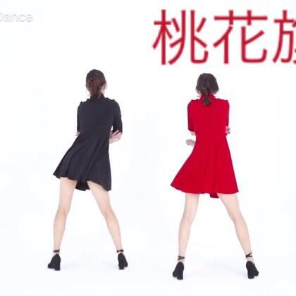 #美拍dancecover大赛##十万支创意舞##桃花旗袍#桃花旗袍随清风飘扬~,中国风与爵士的融合献给你💚💜