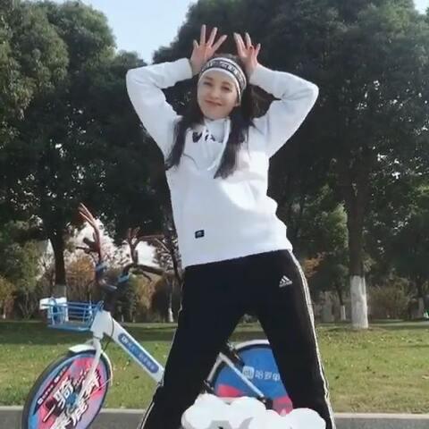 【饭饭✨Twinkle✨美拍】#一骑麋鹿舞#dancer晨练的正确打...
