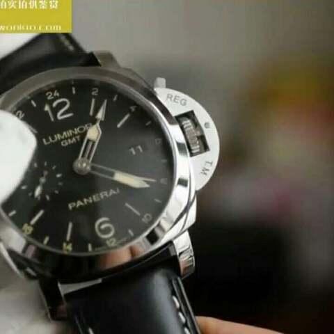 【蜗牛名表视频评测美拍】VS厂V2版本沛纳海PAM00531 功能...