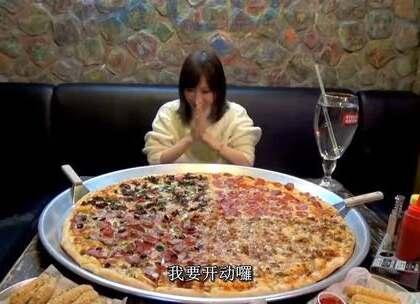 【大胃王木下】更新番!木下大王今天享用在北京品尝32寸的超大披萨~#吃秀##直播吃饭##大胃王木下##美食##木下佑香#转发真的会变美~@大胃王木下第二频道 点击大胃王木下的微博: http://weibo.com/p/1005055662941687 观看完整版