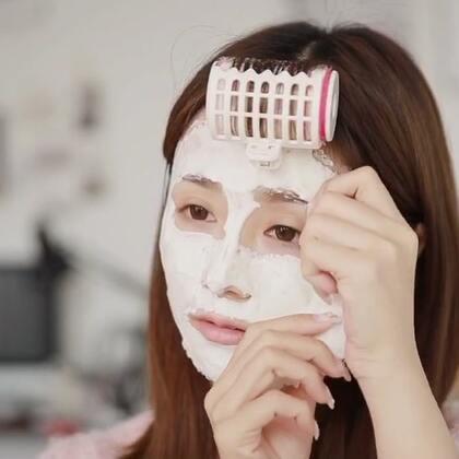 #化妆的最高境界#就是别人看不粗来你化妆了[嘘],好像天生好肌肤,来分享下最近爱用的面膜粉,冬天也别懒了宝宝们!#熊仔美妆##购物分享#