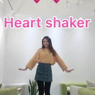 #heart shaker##一骑麋鹿舞##精选#Twice这次新歌也是超级萌啊~下了课在学校甜品店录哒,喜欢记得帮我赞转评哦~么么~@美拍小助手