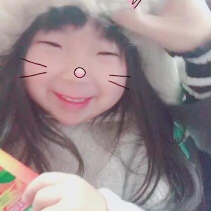 #甜蜜的暴击#我:emy,太冷了,帽子戴起来吧😂😂#宝宝##搞笑的emy#