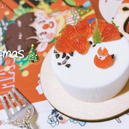 #手工#🎄草莓果果🍓圣诞节有礼物吗 反正我没有2333 快要年末啦 也快考试啦🌙一个温暖的视频希望喜欢☝️不容易的更新🚩Merry Christmas🎄记得zzp⛄️