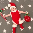 今天是我的第87天🎀第一次跟粑粑麻麻@完美如姐夫 @Dalin不是Linda 过节,我超级开心!在这里祝小姨们节日快乐😘😘😘希望你们永远开心幸福❤点赞,评论里继续发奶皂送给小姨们💕#小棉成长记##宝宝##美拍陪你过圣诞#