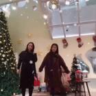 #宠物#和好闺蜜今天一起相约过圣诞节,抛弃丘粑,哈哈😄