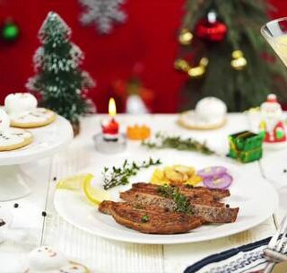 这份浪漫牛排大餐,满足你对圣...