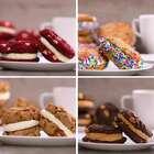 手机前酷爱cookie的朋友们麻烦举个爪~😌😌属于你们4种不同口味cookie来啦😊缤纷香草,红色丝绒,巧克力花生,营养核桃,款款美味不容错过👻👻#美食##我要上热门##半夏食谱#