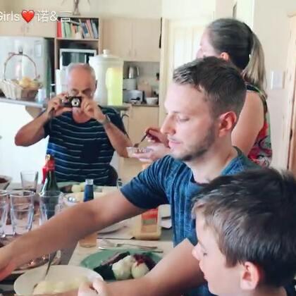 日常😁#诺言家的家庭聚餐##伊诺两岁##伊言33天#