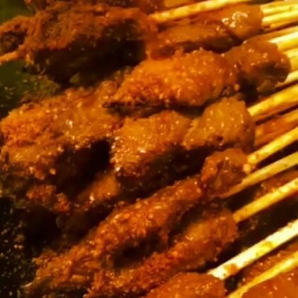 肉串 过年多做点当零食吃#美食##羊肉串##元旦家宴菜#