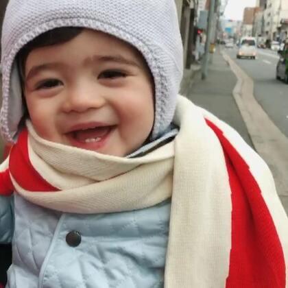 旅途中的小森森#宝宝##Yusen十二个月##带着美拍去旅游#
