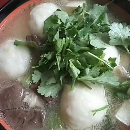 魚丸五味汤#日常##美食#