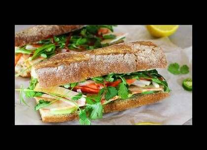 越南三明治 菜谱 #美食##菜谱##减肥餐#