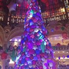 巴黎老佛爺百貨的糖果裝飾!Nice!@美拍小助手 #巴黎##我要上热门##新年#