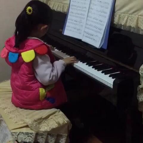 彤宝钢琴曲,牧民歌唱毛.