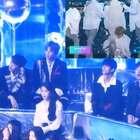 #现场reaction#IU和Wanna One观看防弹少年团BTS的《春日》☺下面的应援我打满分😘#音乐#