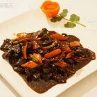 <橙皮牛肉>据说是一道老川菜,一般人我不告诉他。。哈哈。你可以试一试哦#海椒记##美食#