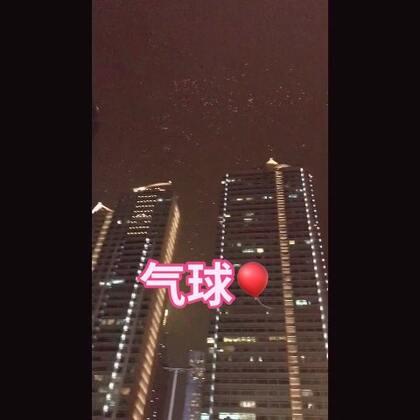 解放碑 好多人 好多气球🎈#精选##跨年#