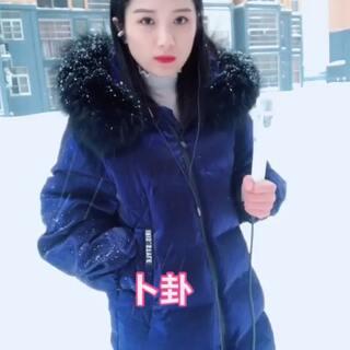 大雪中给大家唱首歌喜欢来个666@美拍小助手