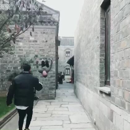 平时拍摄跑酷视频的背后 看一看摄影师的凌波微步😏#我要上热门@美拍小助手#