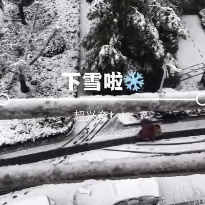 #日志##vlog#58 昨天下了一天的雪❄️,出门两次鞋子全都湿了,好久没看到这么大的雪了哈哈