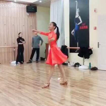 #拉丁舞#恰恰#哈哈哈抢到了第一个solo名额😄@💃应苏梦💃 @苏梦Aana