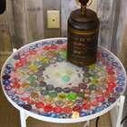 你们家啤酒盖都没扔吧?!一起来做个逼格满满的小桌子吧👻👻从来不知道啤酒盖可以这么玩🎵🎵#手工##机智日记##我要上热门#