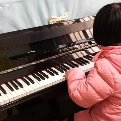 音乐##钢琴课#黄泽一《牧民歌唱毛主.席》 - 音乐