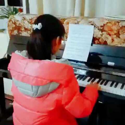 钢琴#牧民歌唱