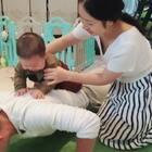 全家亲子活动日常,爸爸就当减肥啦#宝宝##运动#