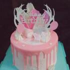 有点赶时间 忘记拍过程 😔有一段时间没做蛋糕了 手也生了😔#2美做蛋糕##美食##蛋糕#