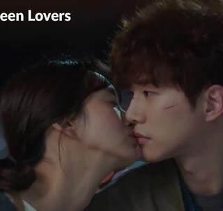 俊昊&真雅 粉红kiss cut #只是相爱的关系##扑通扑通的小心跳##韩剧#