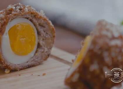 听说最近流行「苏格兰蛋式」男友,知道什么是苏格兰蛋吗? 就是蛋黄流心、肉馅酥香,很perfect那种😘#美食##家常菜##苏格兰蛋#