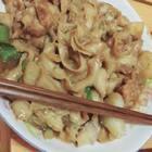 #大盘鸡拌面##吃秀#巨好吃呀,太好吃了