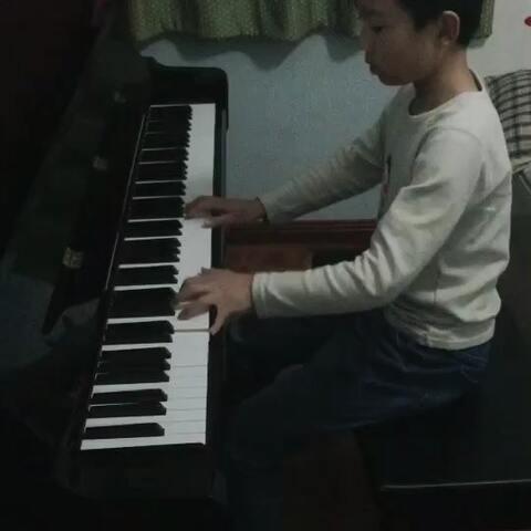 钢琴五级 阿坝夜会