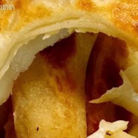 【Eason的奶奶美拍】烫面肉饼#美食#