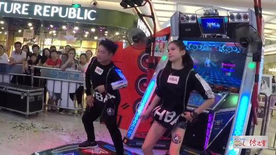 [CGL传达室]2017CGL浙江省赛,来自杭州的跳舞机女神@yoyo丶魚 和搭档的一首嘻哈曲风原创《拉响警报》,这时候的小鱼你喜欢吗?粉起来哦~#e舞成名##e舞者##舞蹈#