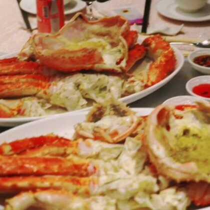 #听到闽南语歌的反应##美食#长脚蟹~鲜甜无比,食得好H i 😘😘😍😍😋😋