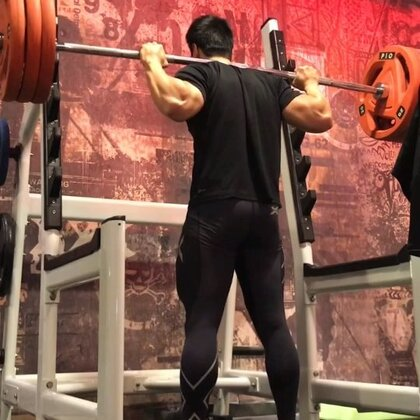 6 sets of 3 x 140kg squats
