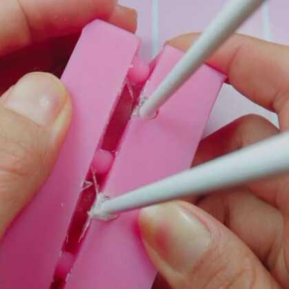 棒棒糖的制作方法。。第一次做。。有点不完美。。不过吃着不错😄#手工#