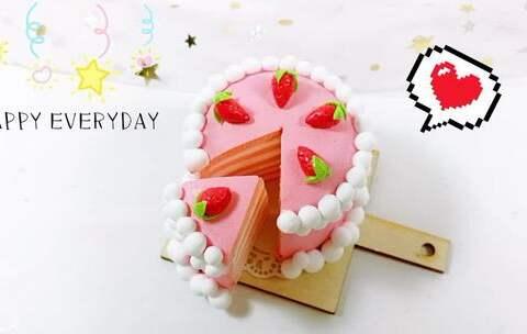 【北北家の美拍】《草莓·之恋》夹心千层蛋糕草莓...