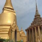 因为第一站抵达曼谷,前天去的大皇宫,这个点儿才发出来!我的所有行程都拍下来了,我都没有时间发,待我剪辑好一个一个发出来!给你们去泰国旅行当参考!凭空丢失的行李机场没有任何消息,不知道是不是被旅客拿错包了!#宝宝##馒头泰国行##馒头20个月#+1