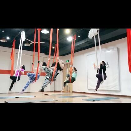 飞迅艺术中心【空中舞蹈】已出效果,大家开始飞起来了