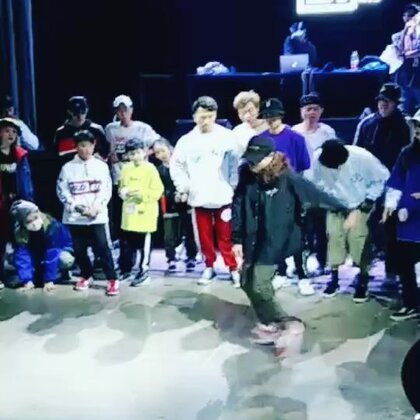 2018年的第一场比赛,做为BBC的成员也是第一次参加自己团队举办的比赛😂😂😂😁😁😁都第三届了愧疚愧疚!!!#梧州spt舞蹈工作室#