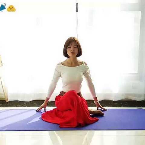 #舞韵瑜伽#爱瑜伽#美丽的神话# - 弦子的美拍