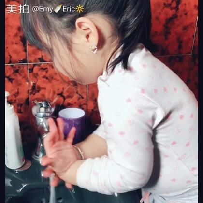 #宝宝##搞笑的emy#洗手歌